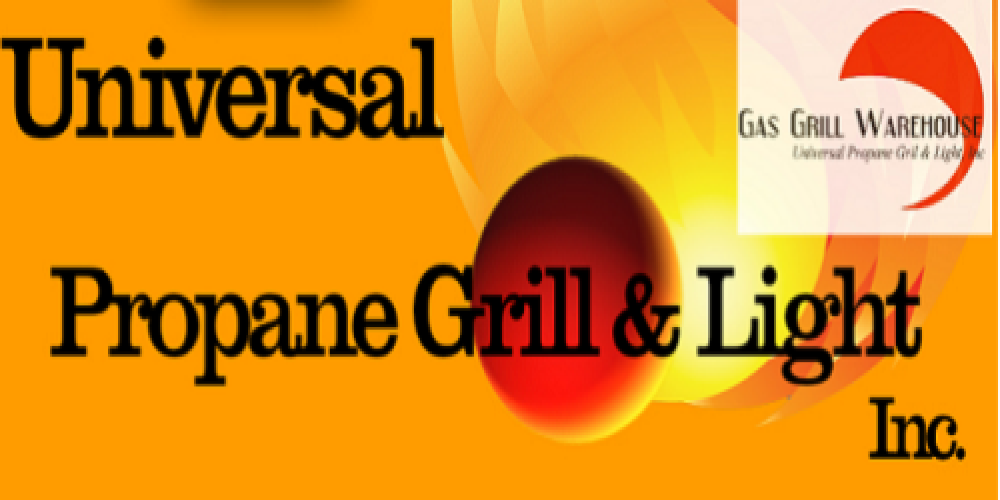 Universal Propane Grill and Light